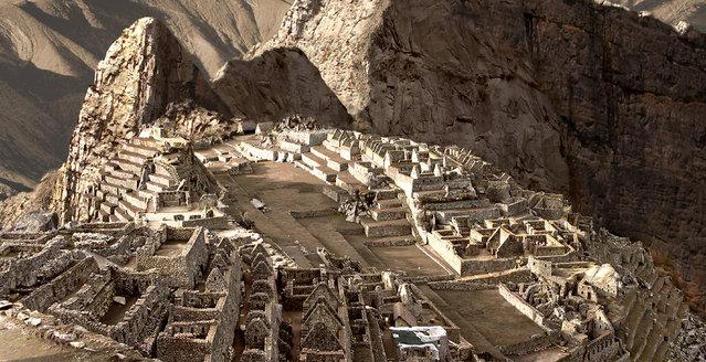 Machu Picchu, Peru, after severe drought. (Photo by Joel Krebs/Caters News)
