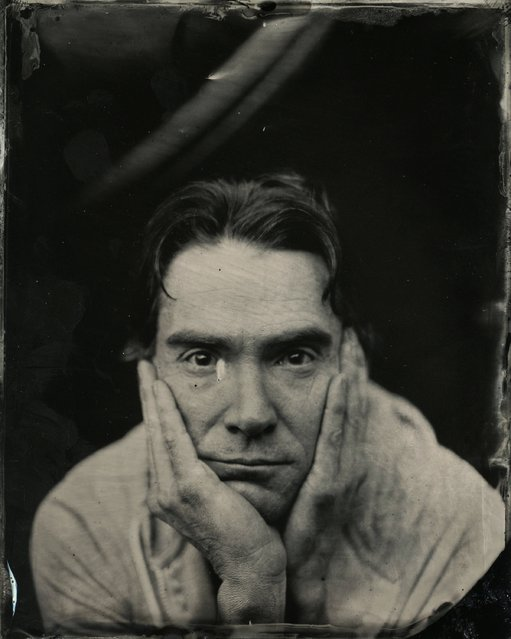 Billy Crudup  poses for a tintype (wet collodion) portrait at The Collective and Gibson Lounge Powered by CEG, during the 2014 Sundance Film Festival in Park City, Utah. (Photo by Victoria Will/AP Photo/Invision)