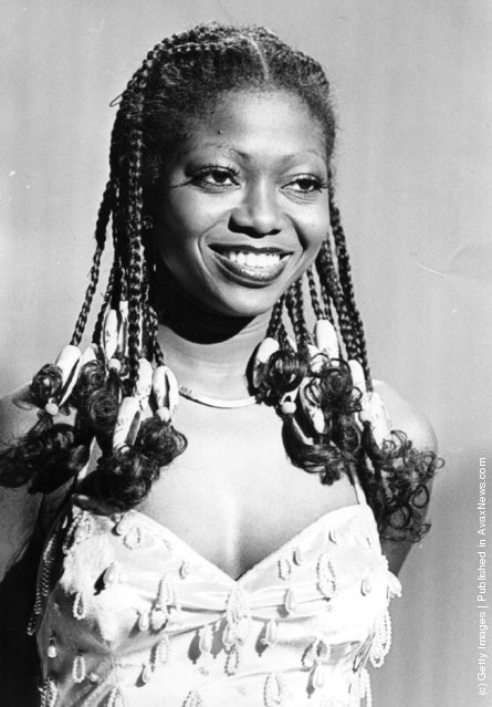 10th March 1978:  Nigerian singer Patti Boulaye appearing on the British TV show 'New Faces', on which she was the first contestant to score maximum marks