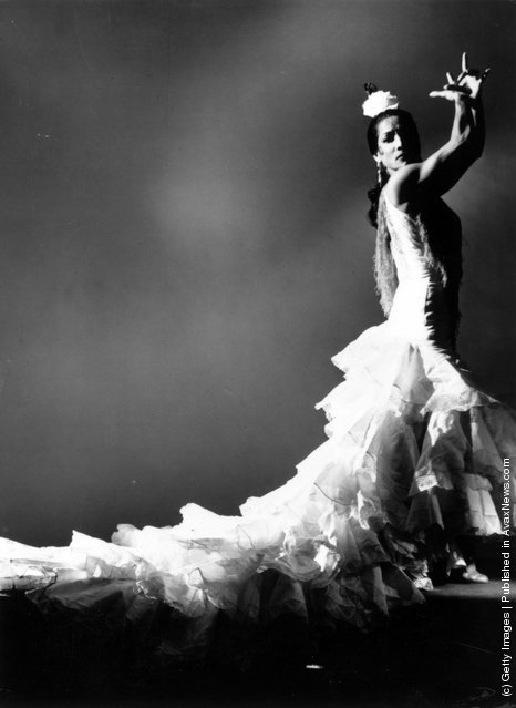 Carmen Amaya, known as the Queen of the Flamenco, not long before she died in 1963