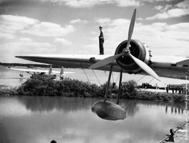 Pan-American flying boat Clipper III