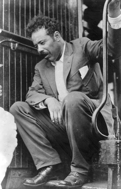 1919: General Francisco 'Pancho' Villa (1877 - 1923)  Mexican bandit and hero of the Mexican Revolution