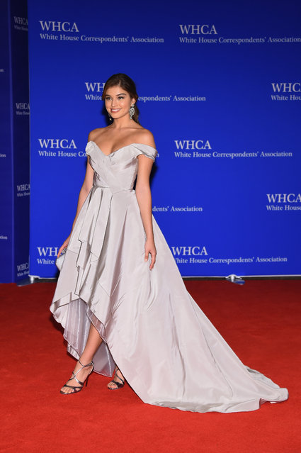 Model Daniela Lopez attends the 102nd White House Correspondents' Association Dinner  on April 30, 2016 in Washington, DC. (Photo by Larry Busacca/Getty Images)
