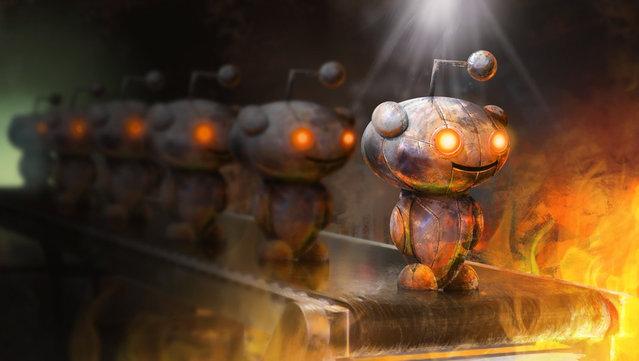 Reddit Alien Robot