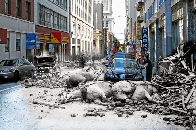 San Francisco Earthquake Mashup 1906 – 2010 by Shawn Clover