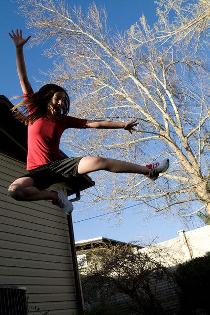 """Jumpology"". ""Jumping"". (Photo by Rick Smith)"