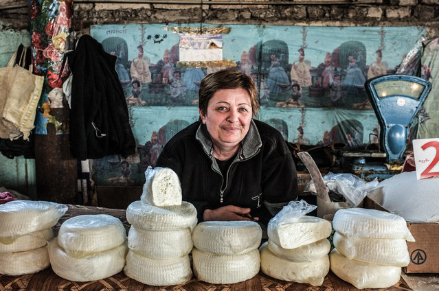 Gianluca Pardelli is something of an expert on markets. For the past two years, he's travelled across eastern Europe, from Azerbaijan to Uzbekistan, Moldova to Georgia, photographing them. Here: Rustavi, Georgia. (Photo by Gianluca Pardelli)