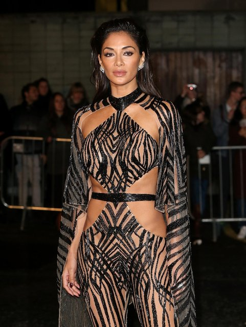 Nicole Scherzinger attends The Fashion Awards 2016 at Royal Albert Hall on December 5, 2016 in London, England. (Photo by Danny E. Martindale/Getty Images)