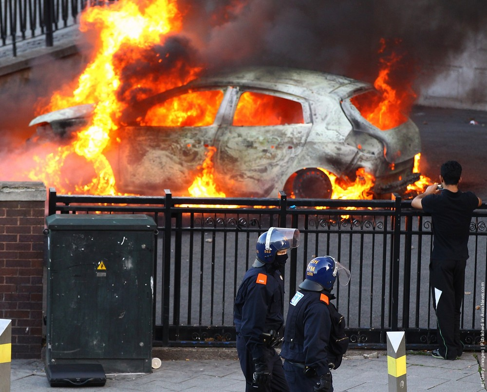 Rioting And Looting In UK