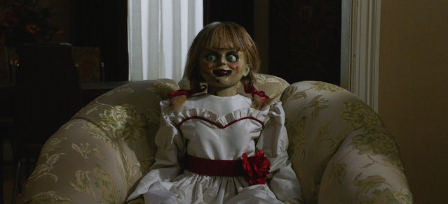 "This image released by Warner Bros. Pictures shows a scene from the horror film, ""Annabelle Comes Home"". (Photo by Warner Bros. Pictures via AP Photo)"