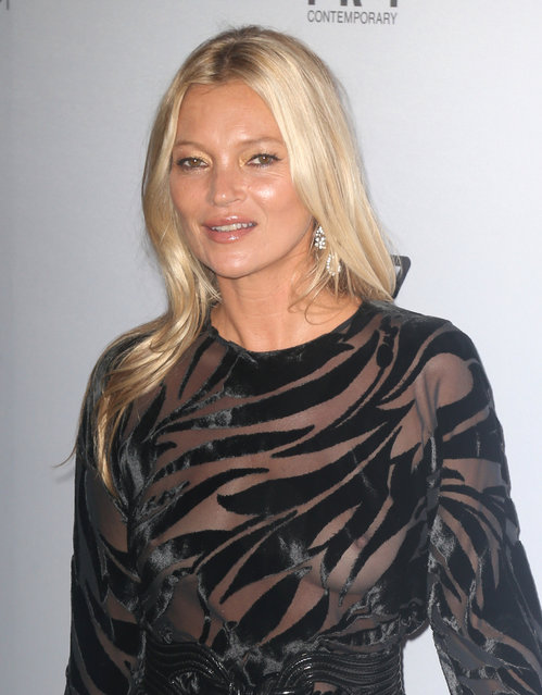 Kate Moss attends The Daily Front Row's 7th annual Fashion Media Awards at The Rainbow Room on September 05, 2019 in New York City. (Photo by Splash News and Pictures)
