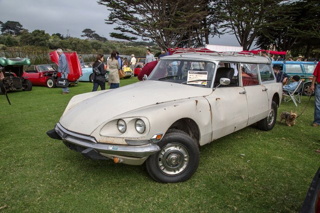 This 1965 Citroen DS19 was part of a whole section of under-engineered European brands. (Photo by Robert Kerian/Yahoo Autos)