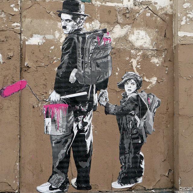 Le Kid <<<< Mr Brain Wash. Paris, 2010. (Photo by  Olivier B.)
