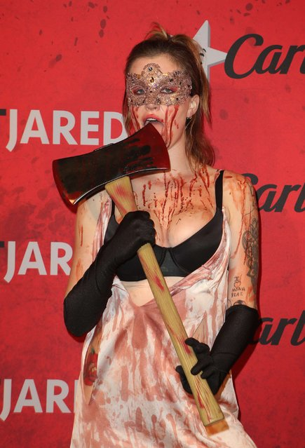 American fashion model and actress Ireland Baldwin attends Just Jared's 7th Annual Halloween Party at Goya Studios on October 27, 2018 in Los Angeles, California. (Photo by FayesVision/WENN.com)