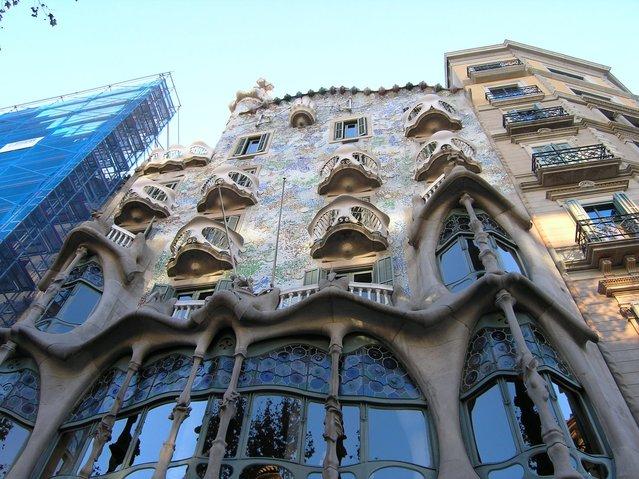 Casa Batllo By Antoni Gaudi