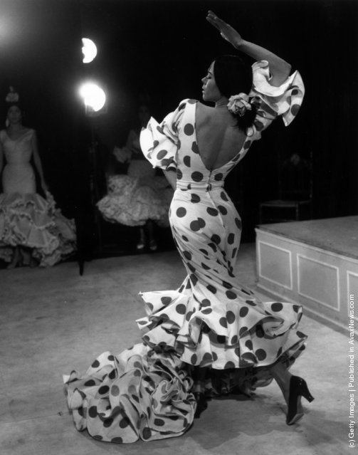 Manuela Vargas at a dress rehearsal for The Tigress of the Flamenco