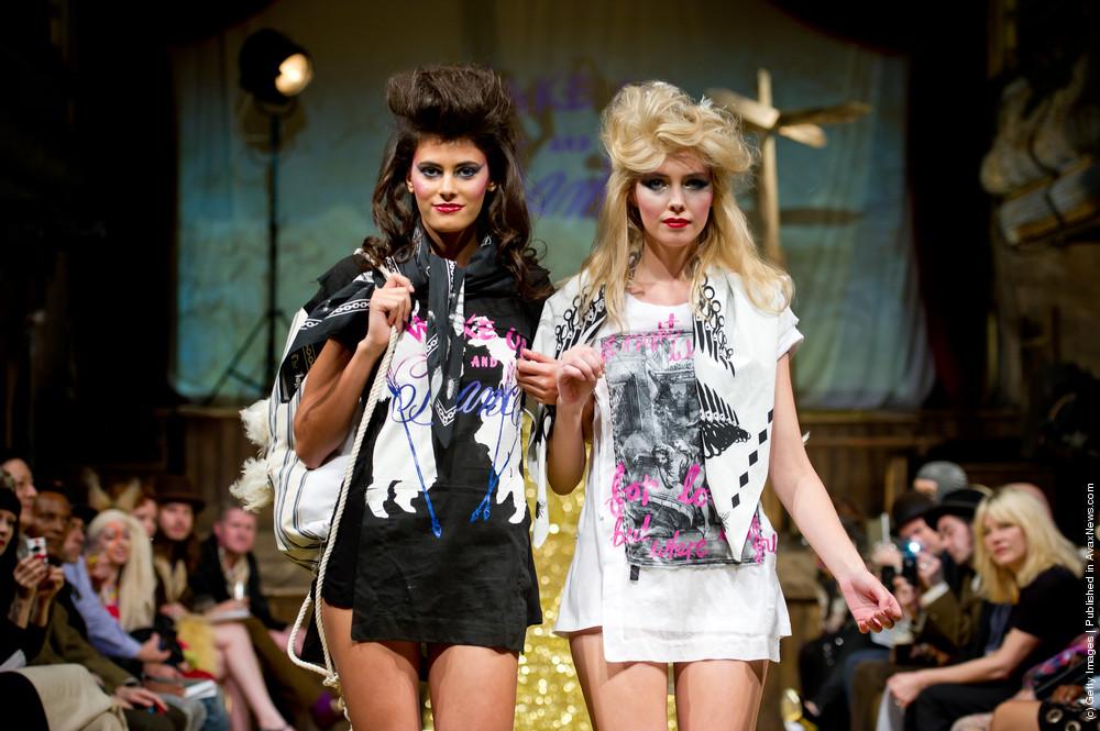 A Child of The Jago Runway – London Fashion Week Spring/Summer 2012