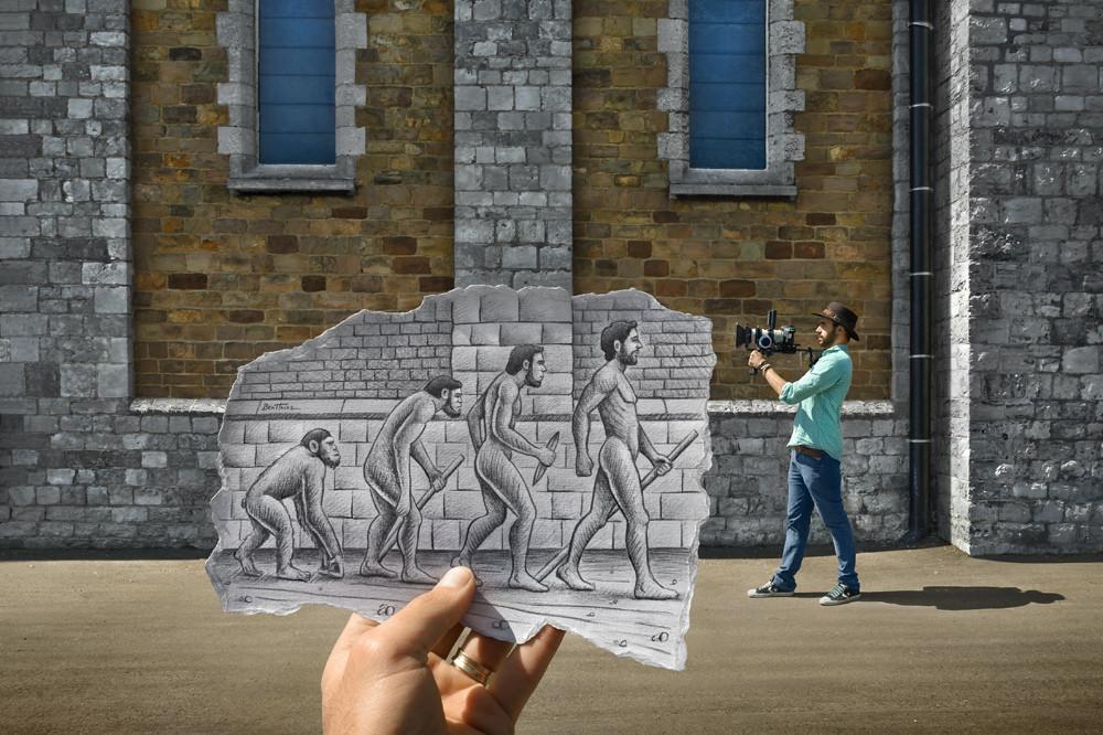 «Pencil vs Camera» by Ben Heine