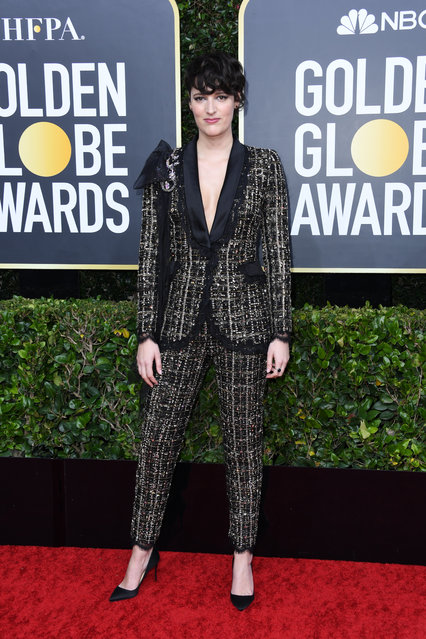 Phoebe Waller-Bridge attends the 77th Annual Golden Globe Awards at The Beverly Hilton Hotel on January 05, 2020 in Beverly Hills, California. (Photo by Jon Kopaloff/Getty Images)
