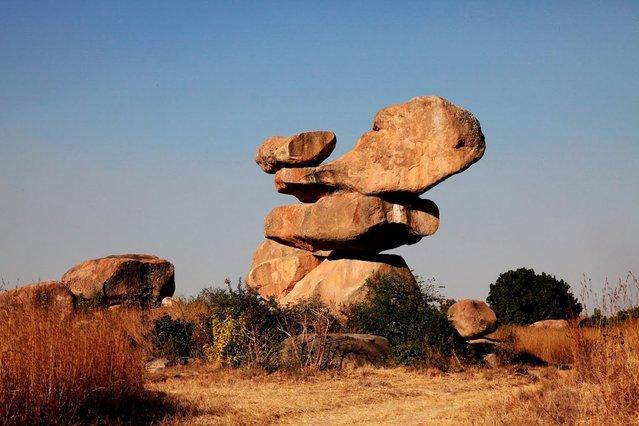 Balancing Rocks in Epworth, Zimbabwe