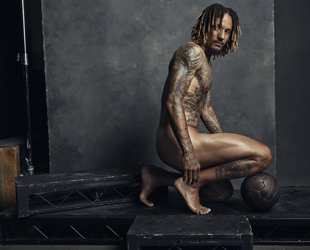 Jermaine Jones. (Photo by Sophy Hollandn for ESPN The Magazine Body Issue)