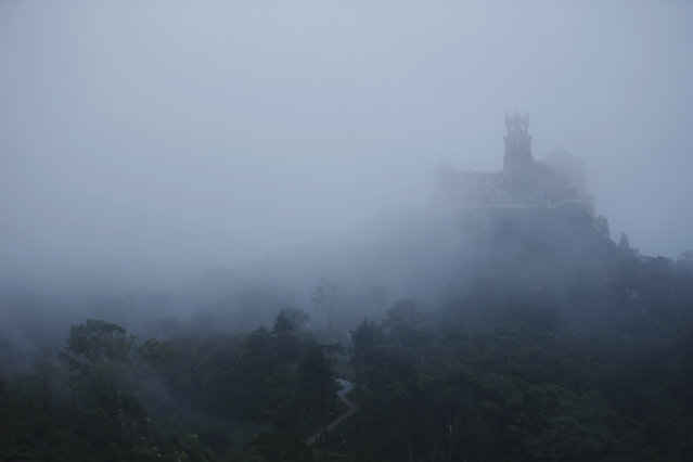 A general view of Pena Palace in Sintra October 8, 2014. (Photo by Rafael Marchante/Reuters)