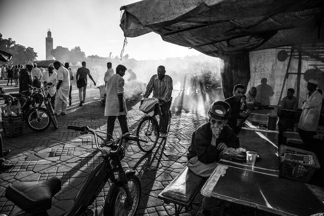 """""""Jemaa El Fna Square"""". Picture taken on Jemaa El Fna Square, Marrakech. (Photo and caption by Rodrigo Melleiro/National Geographic Traveler Photo Contest)"""