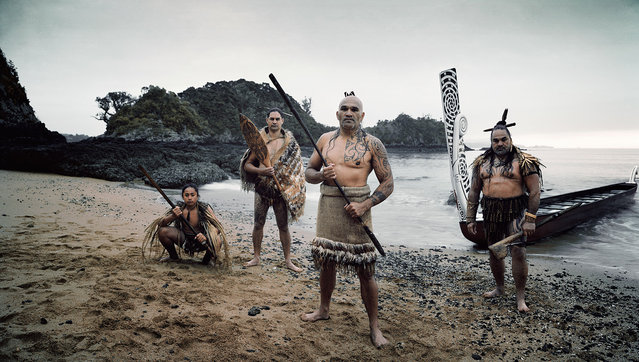 Defining aspects of Maori traditional culture include art, dance, legends, tattoos and community. While the arrival of European colonists in the 18th centure had a profound impact on the Maori way of life, many aspects of traditional society have survived into the 21th century. (Jimmy Nelson)