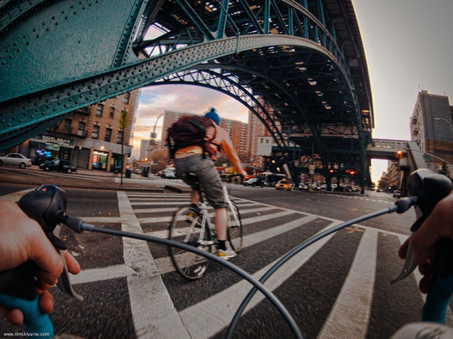 New York through the eyes of a Road Bicycle