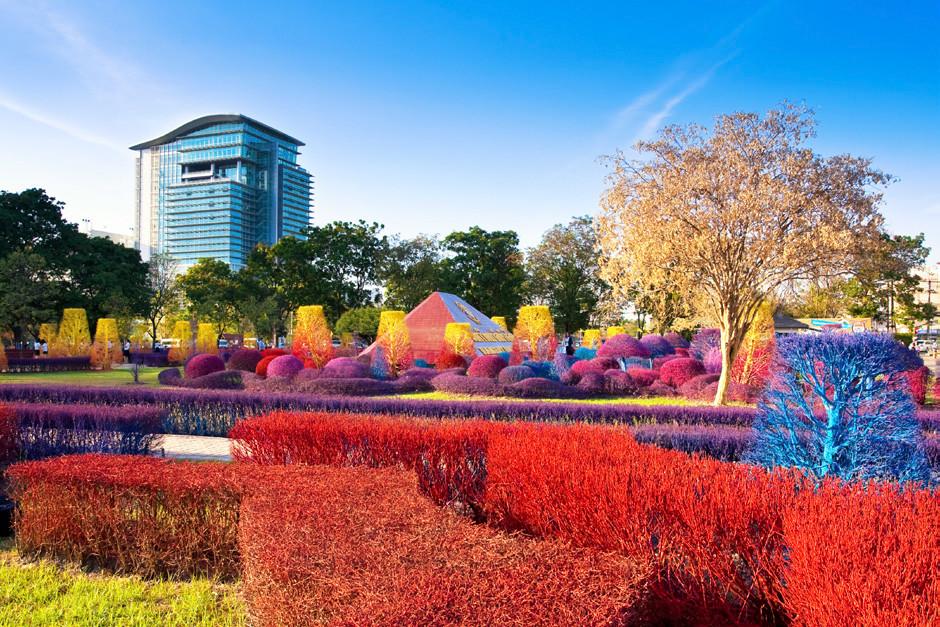 Colourful Campus of Thailand's Rangsit University