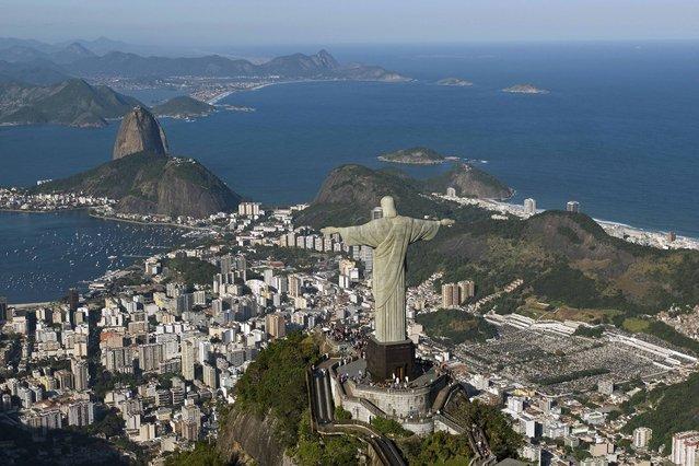 Rio de Janeiro, Brazil. (Photo by Caters News)