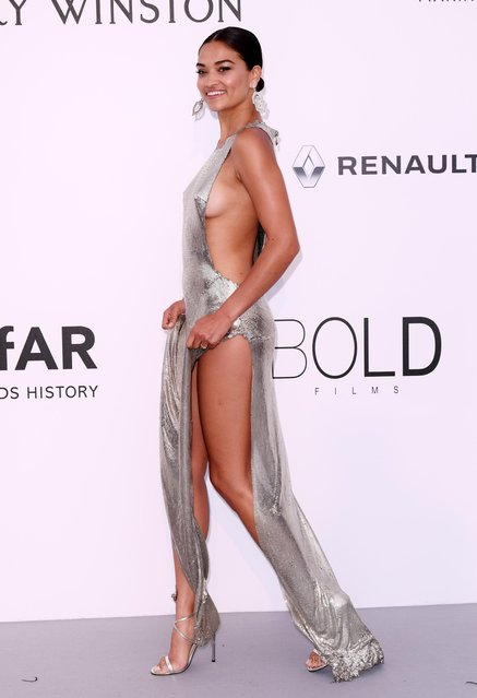 Australian model Shanina Shaik arrives at the amfAR Gala Cannes 2017 at Hotel du Cap-Eden-Roc on May 25, 2017 in Cap d'Antibes, France. (Photo by David Fisher/Rex Features/Shutterstock)