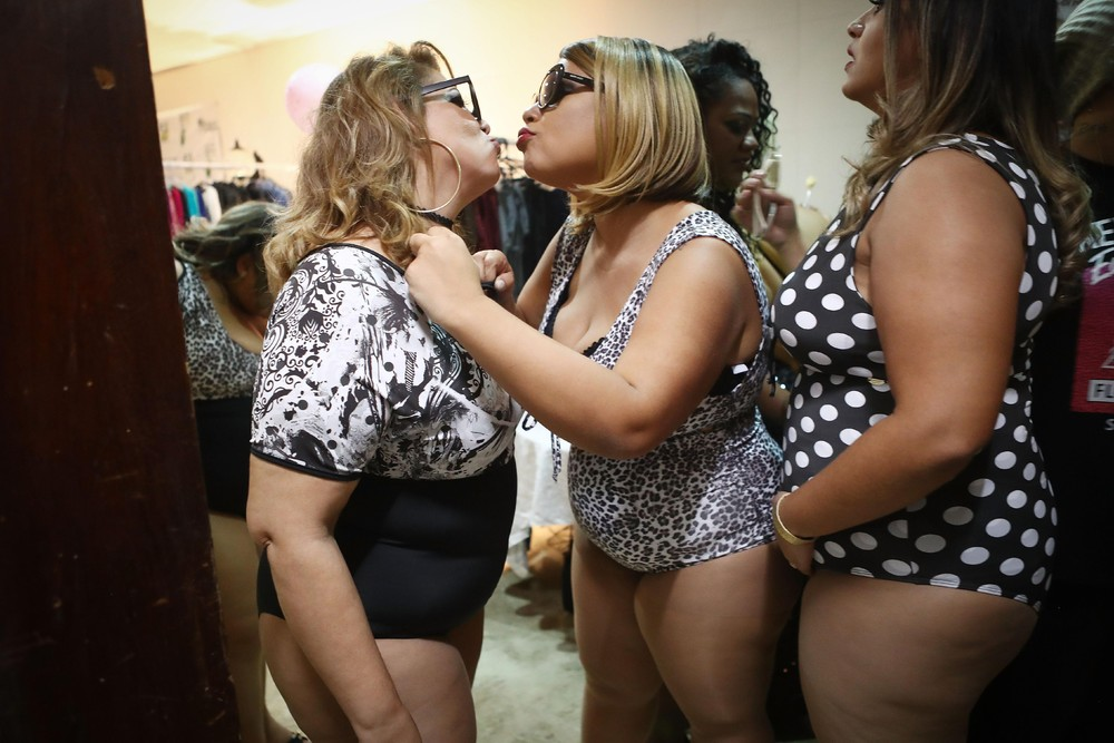 Miss Plus Size Carioca Pageant held in Rio