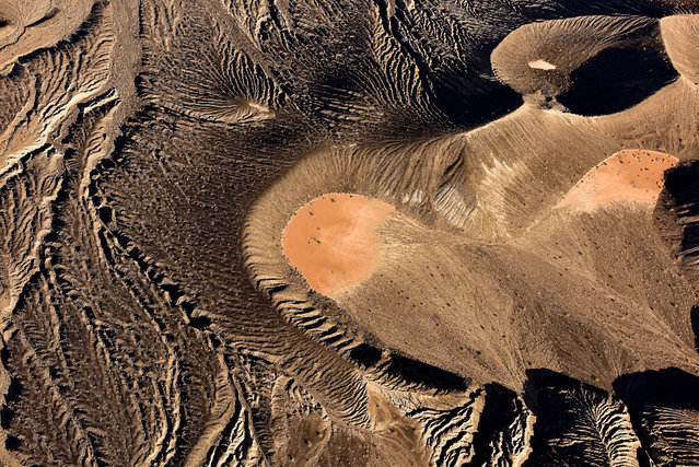 Ubehebe Crater, Death Valley. (Photo by Jassen Todorov/Caters News)