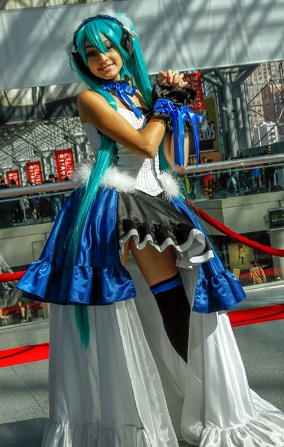 New York Comic Con/Anime Festival 2013. (Photo by NY Big Apple)
