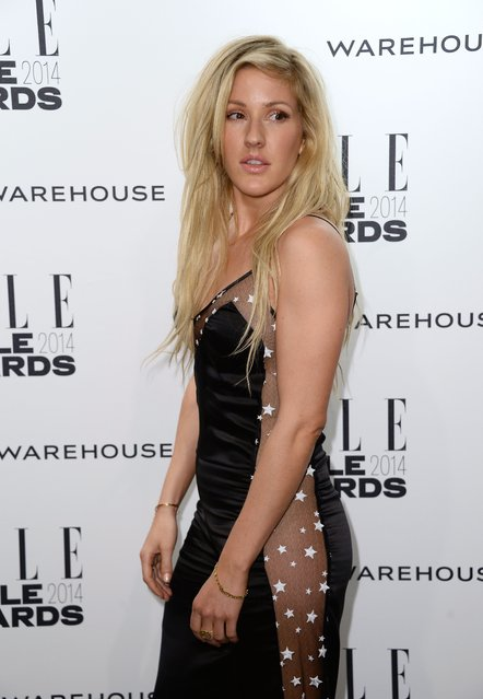 Ellie Goulding attends the Elle Style Awards 2014 at one Embankment on February 18, 2014 in London, England. (Photo by Ian Gavan/Getty Images)