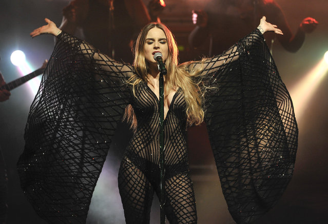JoJo performs at The Regency Ballroom on February 19, 2017 in San Francisco, California. (Photo by Steve Jennings/WireImage)