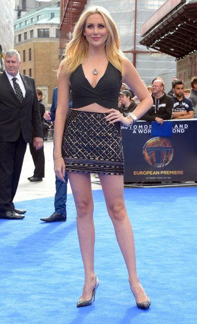 Stephanie Pratt attends the Tomorrowland: A World Beyond, European premiere at Leicester Square on May 17, 2015 in London, England. (Photo by Stuart C. Wilson/Getty Images)