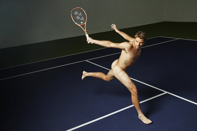 Stan Wawrinka in ESPN's The Body Issue 2015. ESPN The Magazine's The Body Issue set out seven years ago with one mission: to celebrate and explore the athletic form through powerful images and interviews. The cornerstone of each annual issue is The Bodies We Want photo portfolio, which features roughly 20 of the world's most elite athletes posing nude. (Photo by Kai Z. Feng for ESPN The Magazine)