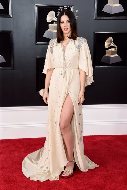 Recording artist Lana Del Rey attends the 60th Annual GRAMMY Awards at Madison Square Garden on January 28, 2018 in New York City. (Photo by Jamie McCarthy/Getty Images)