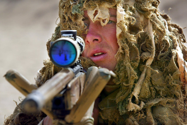 British Royal Marine soldier