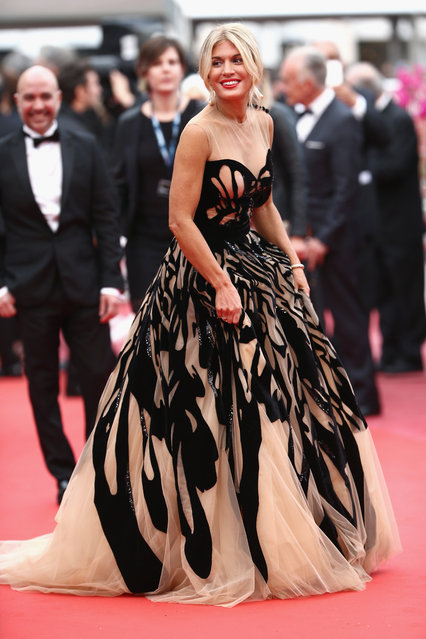 """Hofit Golan attends the """"Cafe Society"""" premiere and the Opening Night Gala during the 69th annual Cannes Film Festival at the Palais des Festivals on May 11, 2016 in Cannes, France. (Photo by Andreas Rentz/Getty Images)"""