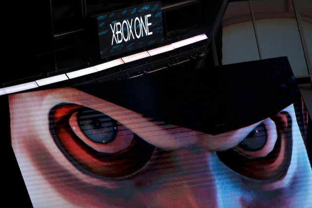 Microsoft Xbox displays We Happy Few at the Xbox E3 2016 media briefing in Los Angeles, California, U.S., June 13, 2016. (Photo by Lucy Nicholson/Reuters)