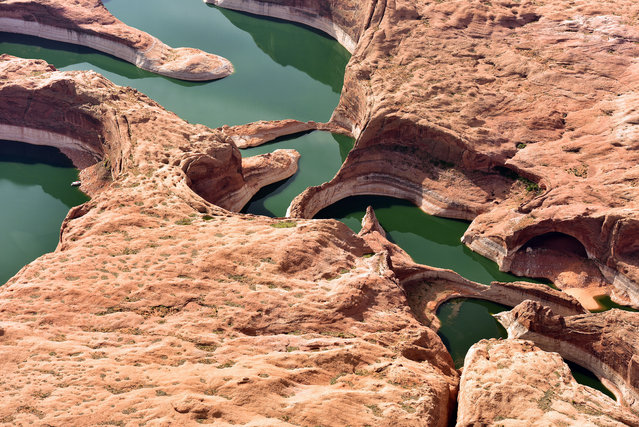 Colorado River, Glen Canyon. (Photo by Jassen Todorov/Caters News)