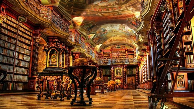 Klementinum Library, Prague, Czech Republic