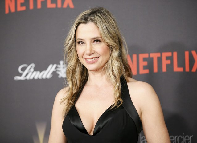 Actress Mira Sorvino arrives at The Weinstein Company & Netflix Golden Globe After Party in Beverly Hills, California January 10, 2016. (Photo by Danny Moloshok/Reuters)