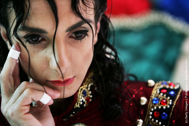 Australian Michael Jackson tribute artist Jason Jackson mourns the loss of of his idol