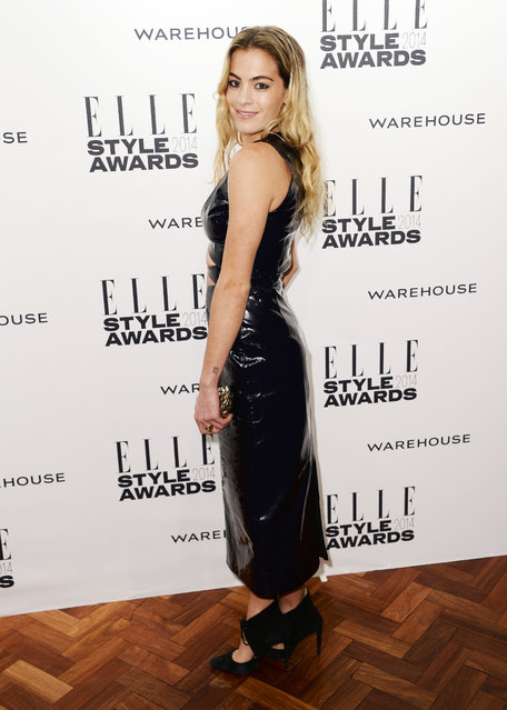 Chelsea Leyland attends the Elle Style Awards 2014 at one Embankment on February 18, 2014 in London, England. (Photo by Ian Gavan/Getty Images)