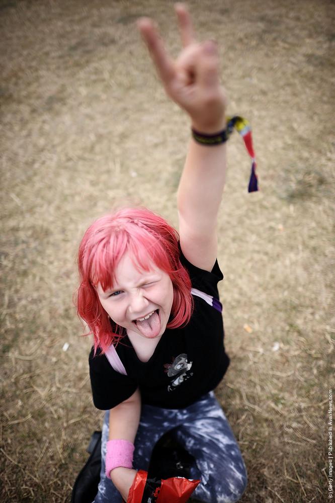 Heavy Metal Music Fans Enjoy the Bloodstock Festival