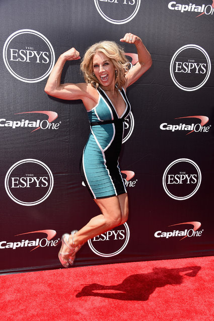 Fitness personality Denise Austin attends The 2015 ESPYS at Microsoft Theater on July 15, 2015 in Los Angeles, California. (Photo by Steve Granitz/WireImage)